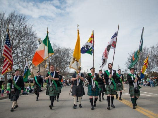 The Cincinnati St. Patrick's Day Parade celebrated its 50th year Saturday March 12, 2016.