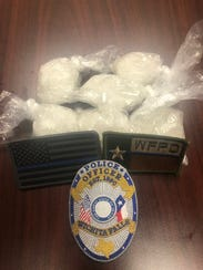Wichita Falls police reportedly seized about 174 grams