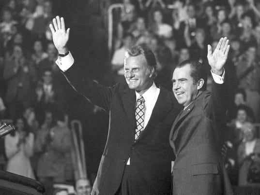 Billy Graham, Richard Nixon