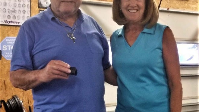 Stan Simchick was recently presented his fourth Paul Harris Fellow Award during last Richlands Rotary Club meeting by club President Melissa Kepes. Recognizing his work and service for the club.