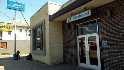 The former Greyhound bus station may become the permanent home for Festival International offices.