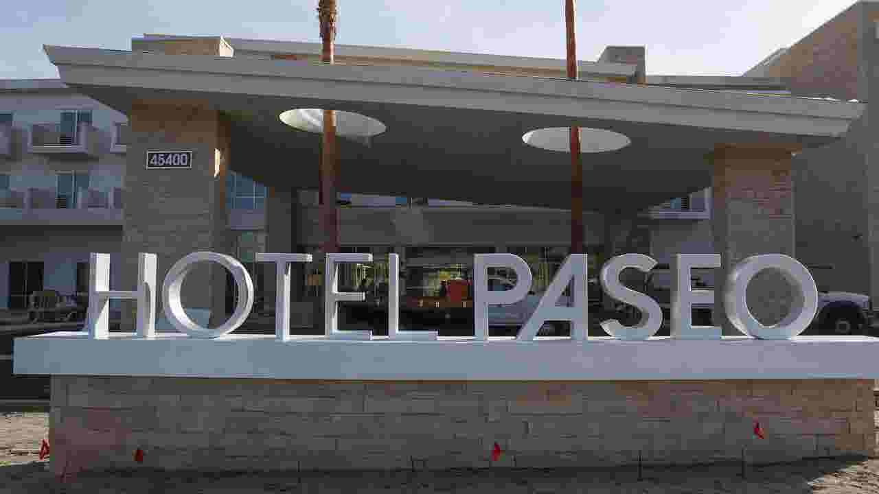 Palm Desert S Much Aned El Paseo Hotel Opening Hits Another Delay