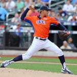 Mariners pitching prospect Taijuan Walker started for the U.S. team at the 2013 All-Star Futures Game at Citi Field.