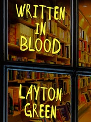 """Layton Green will discuss his book """"Written in Blood"""""""