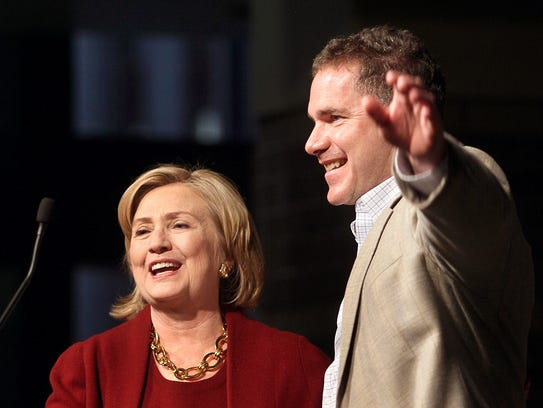 Former secretary of State Hillary Rodham Clinton campaigns