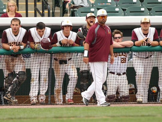 Salisbury coach Troy Brohawn is the third coach in program history to reach 100 career wins.