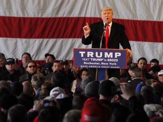 Trump visits Rochester