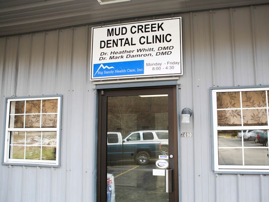 The Mud Creek Dental office opened beside the Eula