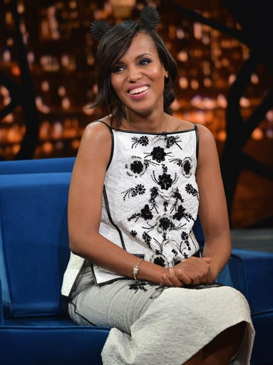 There's a serious baby boom happening in Hollywood. From big-screen starlets to TV stars to singers, here are the lovely mothers to be. KERRY WASHINGTON | The 'Scandal' star is staying mum on her impending motherhood. It's her first with husband Nmandi Asomugha.