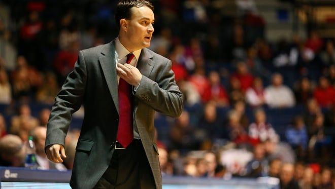 Dayton head coach Archie Miller.