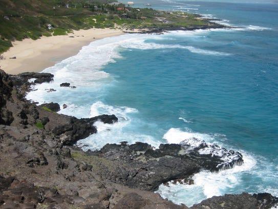 Southern shore of Oahu
