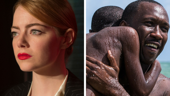 'La La Land' and 'Moonlight' are two leading contenders