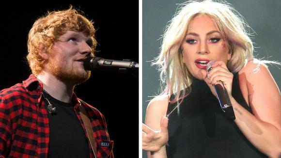 Lady Gaga has a hopeful message for Ed Sheeran.
