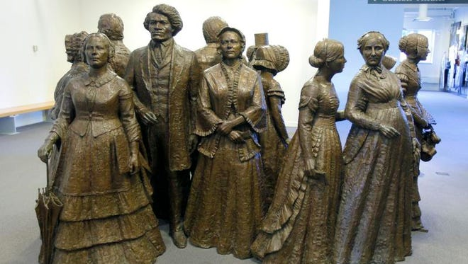 Women's Rights National Historic Park in Seneca Falls showcases the suffrage movement.