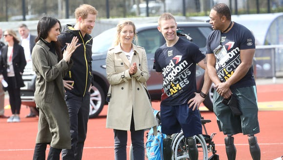 The soon-to-be royal couple and Invictus Games hopefuls.
