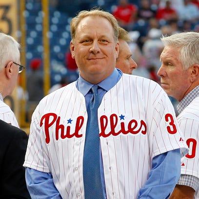 Former Philadelphia Phillie Curt Schilling.
