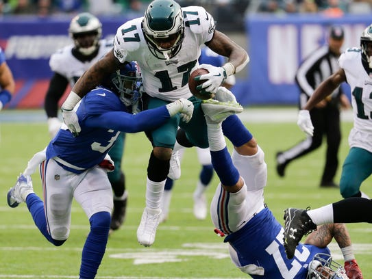 Philadelphia Eagles wide receiver Alshon Jeffery (17)