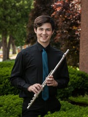 Flute player Israel Patterson will be featured in the