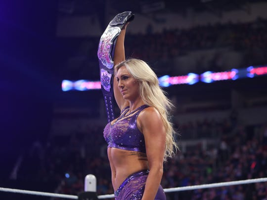 In September, Charlotte became WWE Divas (female) Champion, a title she'll bring to Bridgestone Arena Monday when WWE Raw returns to downtown Nashville