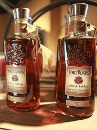 Four Roses Bourbon held a tasting to benefit the Forecastle Foundation.