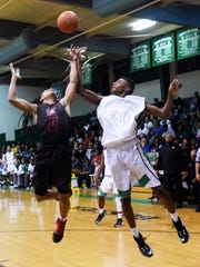 Bossier's Kaalas Roots and Northside's Eric Robinson