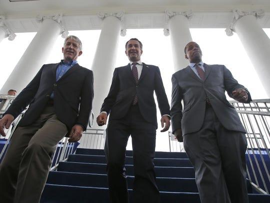 Ralph Northam,Mark Herring,Justin Farifax
