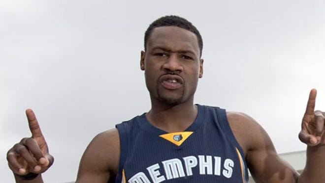 Tony Allen will represent Memphis International Airport in a deal between the Airport Authority and the Memphis Grizzlies. (handout photo)
