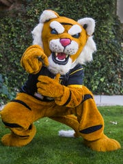 """Navey Baker says being a team mascot is """"the ultimate"""