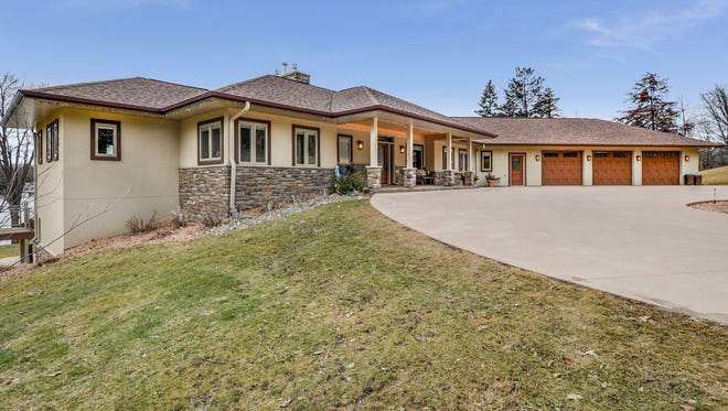 The property located at 44517 Birch Park Circle, Grey Eagle, is listed for $1.4 million by Central MN Realty agent Brandon Kelly.
