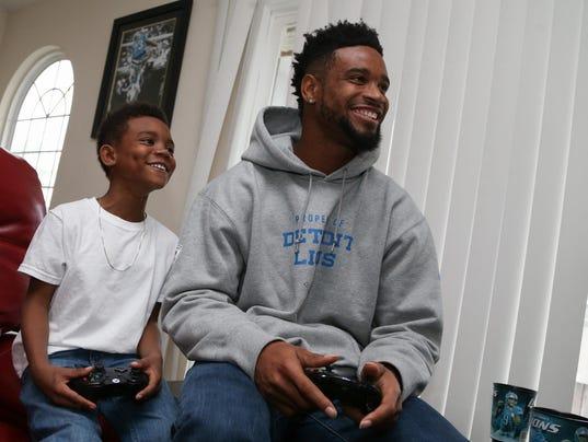 Wholesale NFL Jerseys - Love life has Detroit Lions' Darius Slay feeling 'better than ever'