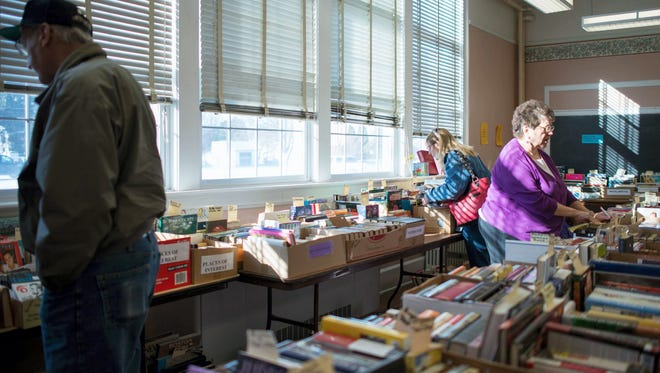 The East Berlin Area Community Center will hold a Winter Book Sale Jan. 20 to 30.