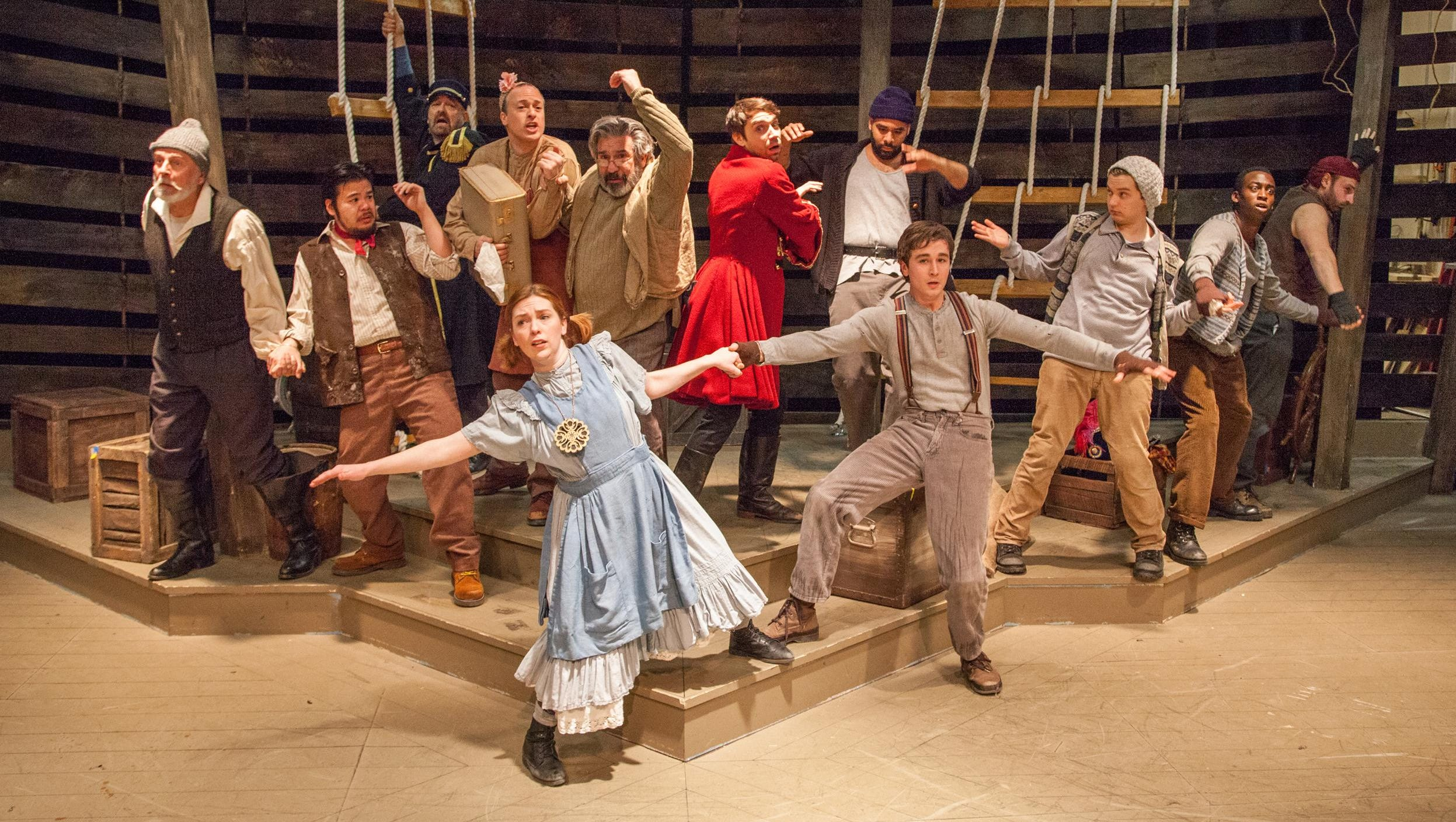 Kitchen Theatre Goes Big With Peter And The Starcatcher