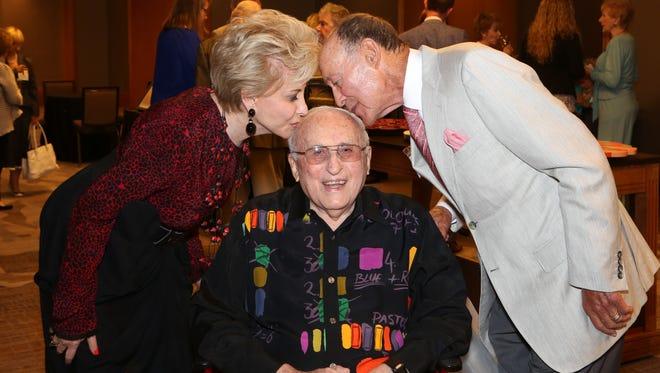 L-R Barbara Keller, Marvin Cohn, Jerry Keller