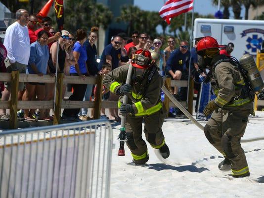 Beach Firefighter Challenge 12