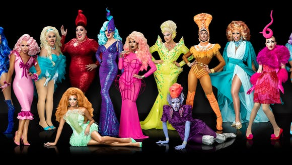 Contestants for 'RuPaul's Drag Race' season 9.