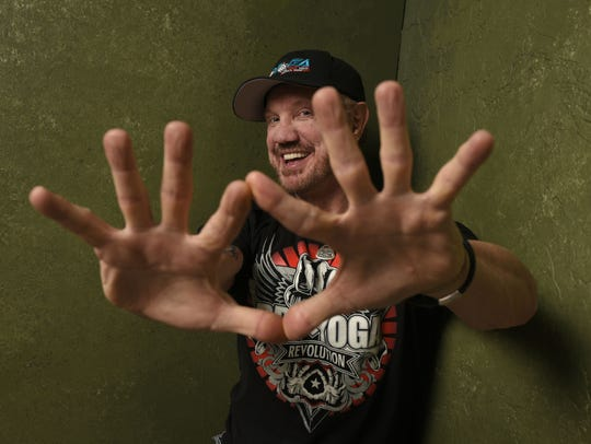 Diamond Dallas Page poses for a photo in 2015 in promotion