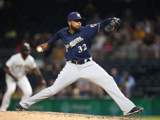 Jeremy Jeffress, who made the All-Star Game as an injury