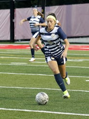 Elmira Notre Dame's Laurel Vargas earned first-team all-state honors in Class C for the second straight year.
