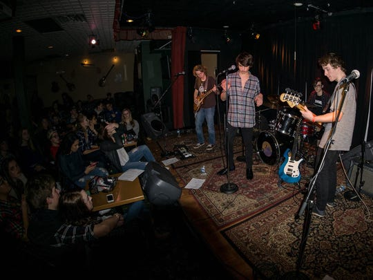 Delaware's Arden Kind performs a sold out show at The Kennett Flash in Kennett Square, Pa. earlier this month.