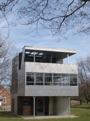 The Aluminaire House was designed by Albert Frey and