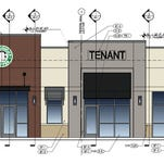 Plans for a new Starbucks coffe shop to be located on Gregory Street in downtown Pensacola have been submitted to the city