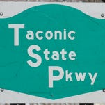 Taconic State Parkway road sign.