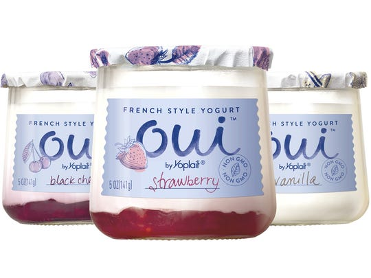 Oui French-style yogurts will come in eight different