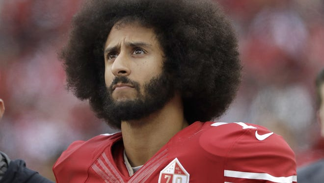 Colin Kaepernick was selected as one of Time's 100 most influential people of 2017.