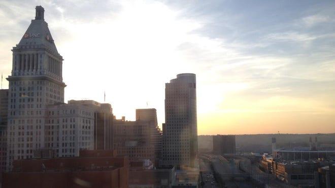 A view of Downtown Cincinnati. File Photo.