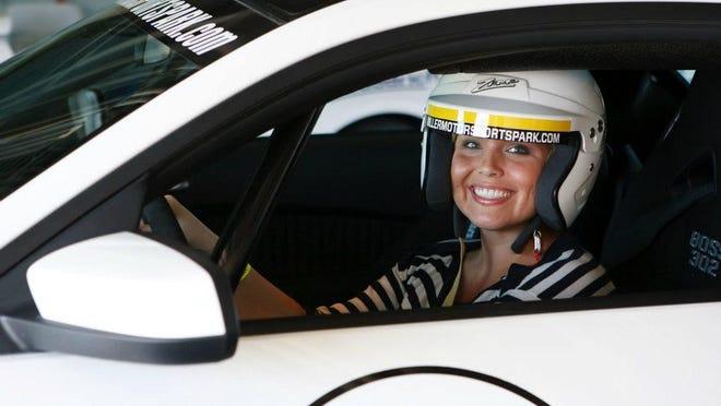 Alex McDaniel at Miller Motorsports Park in Salt Lake City, Utah (June 2012)