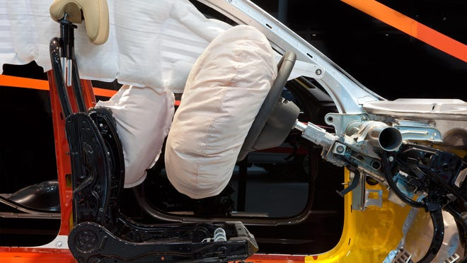 According to SafeAirbags.com, more than 12 million unrepaired recalled Takata airbags remain on U.S. roads, including 100,000 in Arkansas. All recall repairs are free. Replacement parts should be available for all vehicle makes and models at local dealerships.