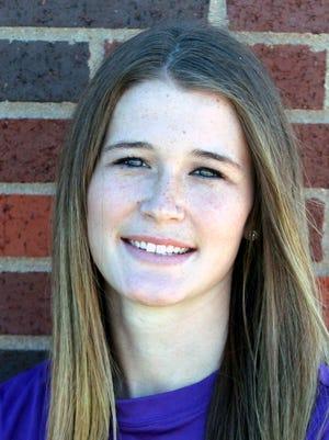 Hardin-Simmons distance runner Sydney Tencate