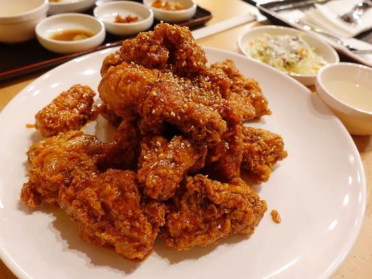 Louisiana Chicken Phoenix Angel Wings Bakery