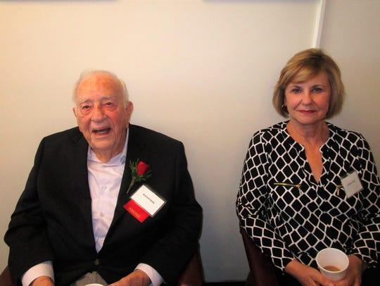 Richard Sealy and Virginia Sealy